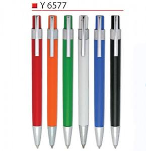 colourful pllastic pen Y6577
