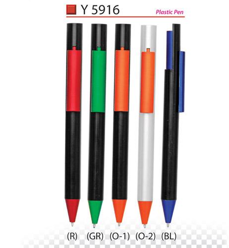 Plastic pen Y5916