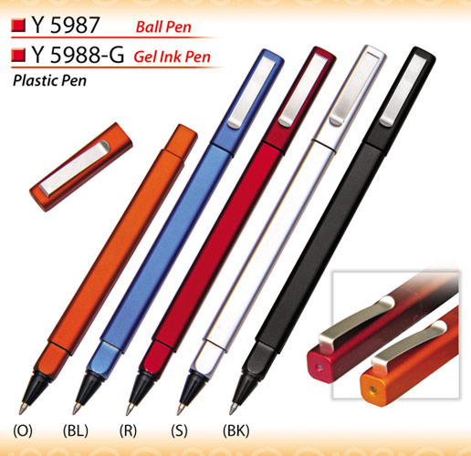 Square head ball pen Y5987